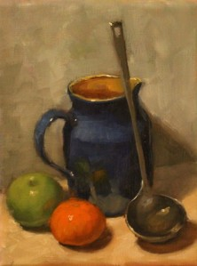 Wendys Blue Vase